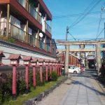 茨木神社の参道